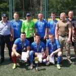 У столиці провели змагання з міні-футболу серед поліцейських (фото)