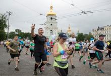 Кличко принял участие в 26-м благотворительном Пробеге под каштанами