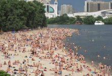 Киевлян призывают воздержаться от купания на пляжах до 20 июня
