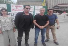 Лидера Rammstein неожиданно заметили в центре Киеве