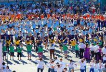 На Подоле прошел первый Киевский бал под открытым небом