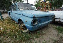 На Русановке около жилых домов более 5 лет стоят заброшенные автомобили