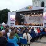 На Софійській площі відбувся грандіозний концерт