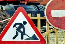 На улице Борщаговской до 16 июля ограничат движение транспорта и пешеходов