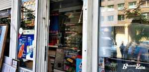 На вулиці Саксаганського демонтують МАФ. Фото