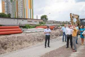Реконструкція вулиці Сім'ї Кульженків вирішить проблему заторів, - Давтян