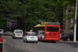 Троллейбусный парк Одессы пополнился новыми машинами