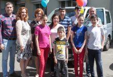 У Києві багатодітна родина отримала подарунок від Київської міської державної адміністрації