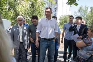 У Києві на вулиці Малишка замість багатоповерхівки створять сквер