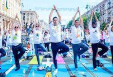 У Києві посол Індії проведе заняття з йоги