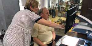 У столичній бібліотеці з'явилося спеціальне обладнання для киян з проблемами зору