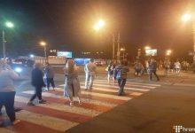 У столиці активісти заблокували вулицю на знак протесту проти вирубки у парку