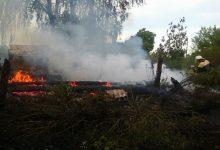 В Чернобыльской зоне пожар уничтожил три отселенных дома
