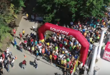 В Голосеевском парке прошел легкоатлетический забег. Видео