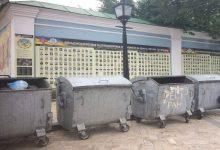 В Киеве у стены с фотографиями погибших майдановцев установили туалеты и мусорники