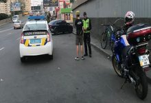 В Киеве возле метро Шулявская велосипедист сбил пешехода