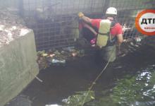 В Киеве из-за сильного ливня в коллекторе утонул мужчина