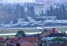 В Жулянах самолет вынесло за пределы взлетной полосы
