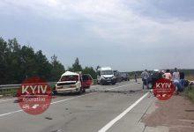 В Житомирской области на полной скорости произошло лобовое столкновение