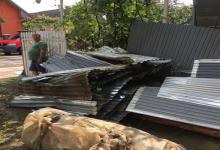 В Закарпатской области ураган оставил дома без крыш
