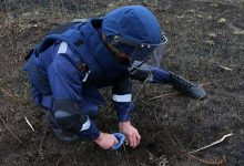 В двух районах Киева были обнаружены артиллерийский снаряд и минометная мина