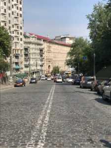 Ветераны Афганистана перекрыли улицу Грушевского