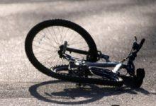 Во Львовской области полицейская сбила велосипедистку