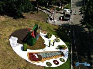 Выставка цветов на Певческом поле установила рекорд