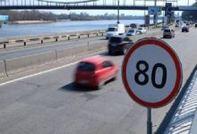 Визначено 22 столичні вулиці, на яких дозволяється швидкість руху до 80 км/год