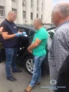 Житель Киевщины задержан на получении взятки