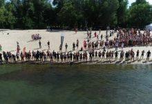 Близько 400 спортсменів та аматорів взяли участь в перепливі Дніпра. Відео