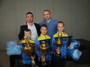 Дети из Броваров стали чемпионами мира по каратэ