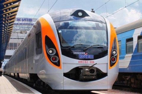 На конец июля назначен дополнительный рейс скоростного поезда Интерсити+
