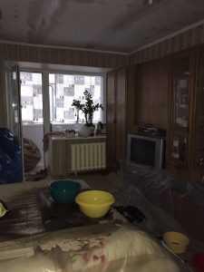 В Броварах жителей дома заливает дождевой водой