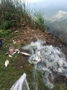 В Буче рыбоохранный патруль зафиксировал грубое нарушение правил рыболовства