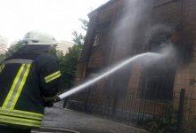 В Киеве произошел пожар в отселенном детском саду