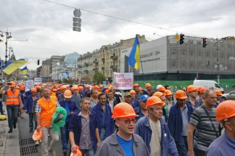 Шахтерам в Луганске не платять зарплату