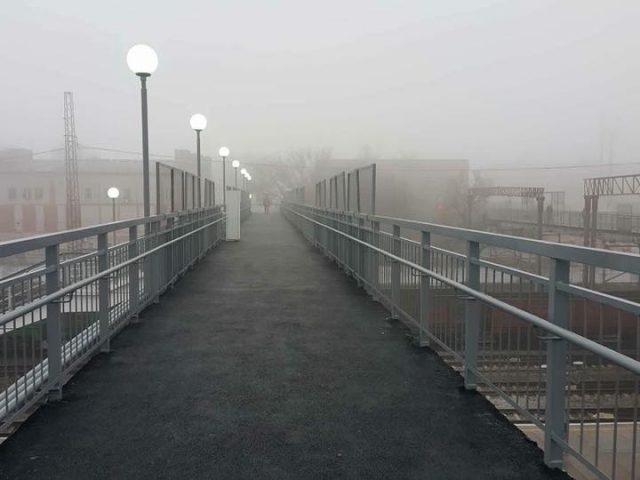 ЖД станції «Вишневе» необхідний міст з ліфтами, для переходу осіб з обмеженими фізичними можливостями (ВІДЕО)