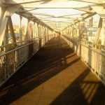 По будівництву пішоходного мосту через залізницю у Вишневому є зрушення (документ)