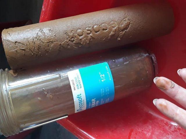 Нардеп показав жахливу якість води в Білогородці!