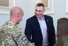 Мер Києва Віталій Кличко підтримав ветеранв АТО ООС