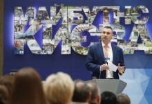 мер столиці Віталій Кличко на Міжнародному форумі Майбутнє Києва про забудови