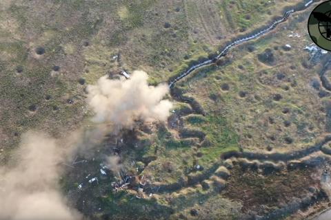 """К2 """"привітали"""" бойовиків батальйону """"Восток"""" з річницею знищенням позицій"""