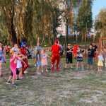Київ Оболонь дитяче свято присвячене Дню фізкультури і спорту Михайло Хорошевський