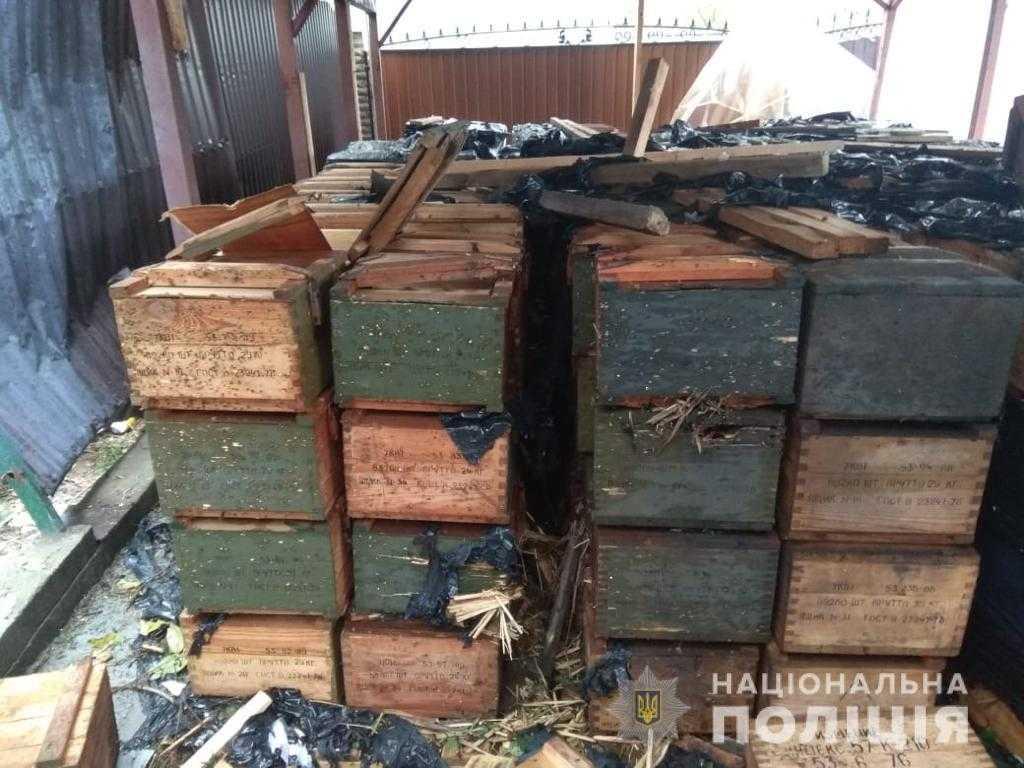 Бородянка Озера вибух боєприпасів загинула людина 1